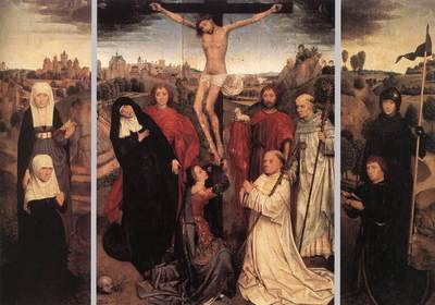 Memling Hans Triptych of Jan Crabbe