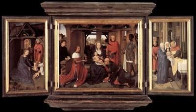 memling hans triptych of jan floreins