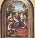Memling Hans Diptych of Jean de Cellier c1475 I