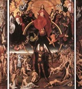memling hans last judgment triptych open 1467