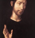 Memling Hans Man of Sorrows 1480s