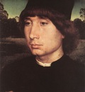 Memling Hans Portrait of a Young Man before a Landscape c1480