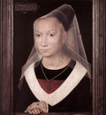 memling hans portrait of a young woman