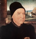 memling hans portrait of an old man 1470