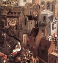 Memling Hans Scenes from the Passion of Christ 1470 1 detail1 left side