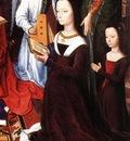 Memling Hans The Donne Triptych c1475 detail5 central panel