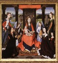 Memling Hans The Donne Triptych c1475