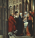 Memling Hans The Presentation in the Temple