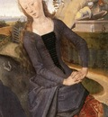 Memling Hans Triptych of Adriaan Reins 1480 detail3 central panel