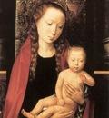 Memling Hans Virgin and Child Enthroned 1480s detail1