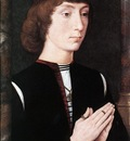 Memling Hans Young Man at Prayer c1475
