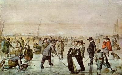 AVERCAMP Hendrick A Scene On The Ice