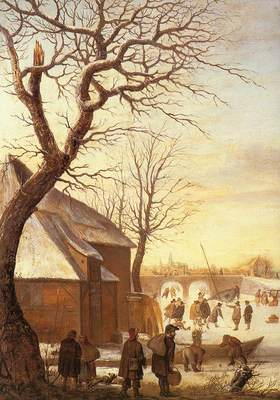 avercamp hendrick winter landscape