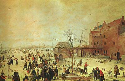 AVERCAMP Hendrick Winter Landscape