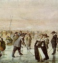 AVERCAMP Hendrick A Scene On The Ice