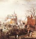 AVERCAMP Hendrick Winter Scene At Yselmuiden