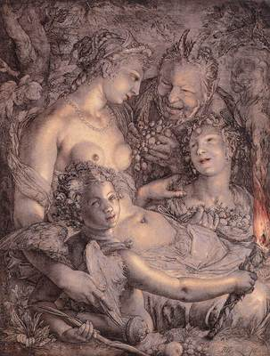 GOLTZIUS Hendrick Without Ceres And Bacchus Venus Would Freeze