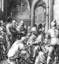 GOLTZIUS Hendrick Circumcision In The Church Of St Bavo At Haarlem