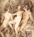 GOLTZIUS Hendrick Venus Between Ceres And Bacchus