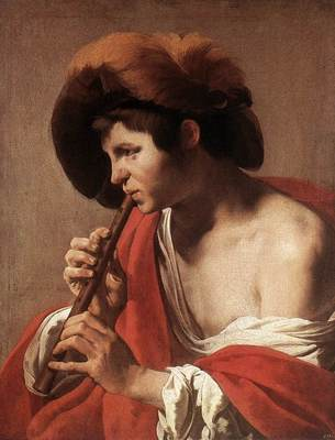 TERBRUGGHEN Hendrick Boy Playing Flute