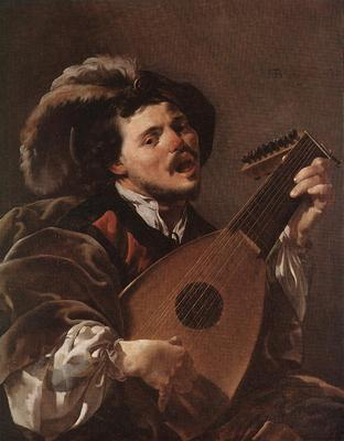 TERBRUGGHEN Hendrick Lute Player