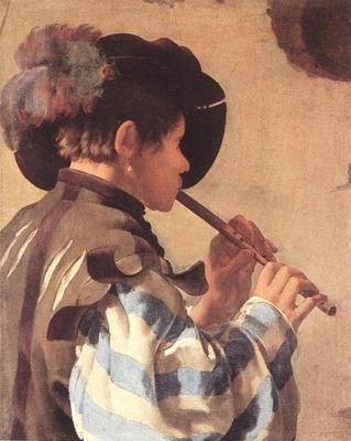 TERBRUGGHEN Hendrick The Flute Player