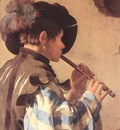 TERBRUGGHEN Hendrick The Flute Player