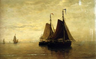 Mesdag Hendrik Willem Kalme Zee