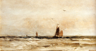 Mesdag Hendrik Willem Seascape