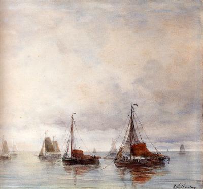 Mesdag Hendrik Willem Temps Calme