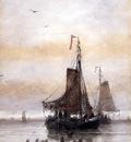 Mesdag Hendrik Willem The Arrival Of The Fleet