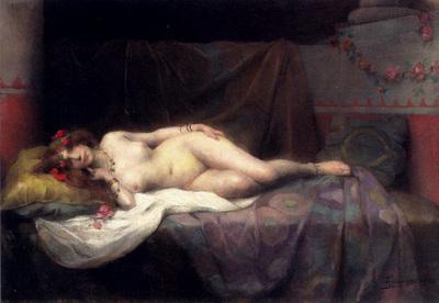 Tanoux Adrien Henri L Odalisque