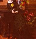 Tanzi Leon Louis Antoine Elegant Lady In A Black Dress