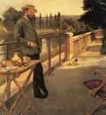 Gervex Henri An Elegant Man On A Terrace