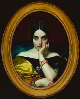 Lehmann Henri Portrait de Madame Alphonse Karr