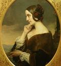 Lehmann Henri Portrait de Marie d Agoult