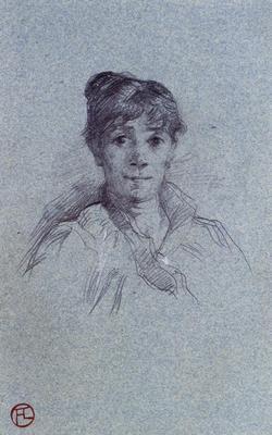 Toulouse Lautrec Henri de Portrait of a Woman