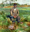 Toulouse Lautrec Henri de A Laborer at Celeyran