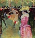Toulouse Lautrec Henri de Dance at the Moulin Rouge