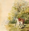 Toulouse Lautrec Henri de Hunting