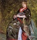 Toulouse Lautrec Henri de Lili Grenier in a Kimono