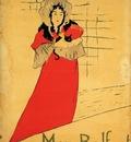 Toulouse Lautrec Henri de May Belfort