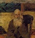 Toulouse Lautrec Henri de Old Man at Celeyran