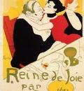 Toulouse Lautrec Henri de Queen of Joy