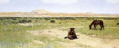 Farney Henry F A Rest in the Desert