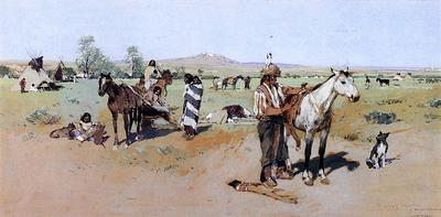Farney Henry F Indian Encampment2