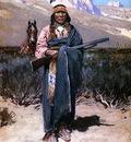 Farney Henry F Indian Brave