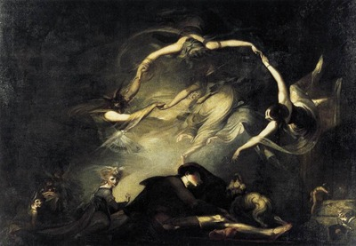 FUSELI John Henry The Shepherds Dream