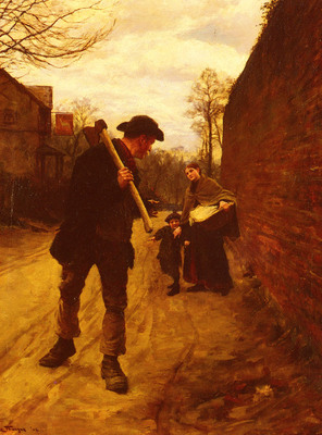 La Thange Henry Herbert Off To Work