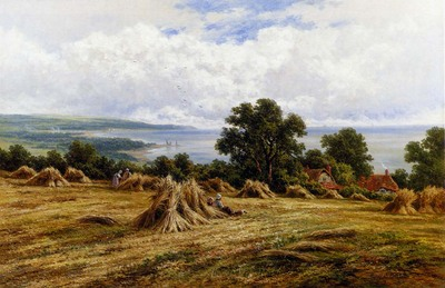 Parker Henry H Harvesting By The Sea